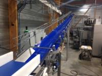 convoyeur auge structure tube